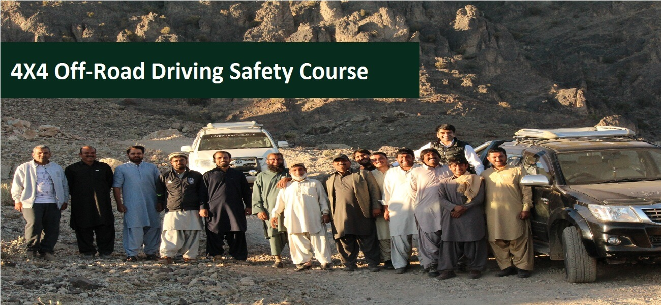 4X4 Off-Road Driving Safety Course Banner 1
