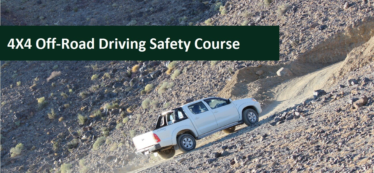 4X4 Off-Road Driving Safety Course Banner 3